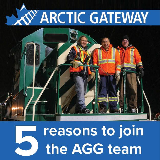 Five Reasons to Join the Arctic Gateway Group Team
