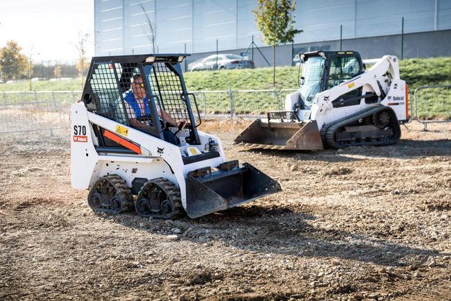 Bobcat Presents New Telescopic Loaders and Quad-Tracked Machine Concept at LAMMA