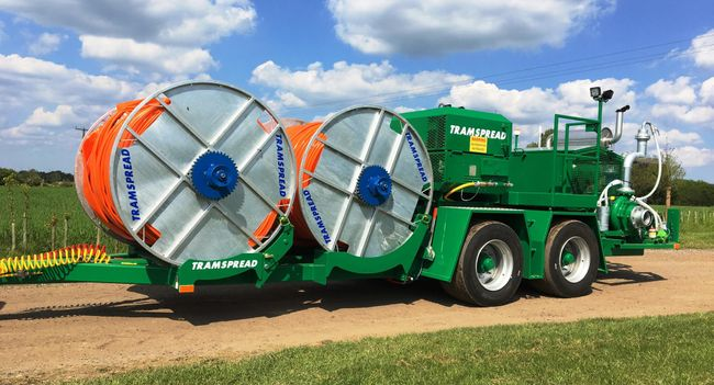 Tramspread will promote safe, sustainable and innovative slurry equipment at LAMMA
