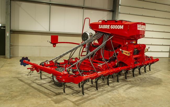 Weaving Machinery to launch next generation Sabre Tine Drill at LAMMA 20