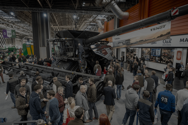 New tractors, loaders and combines make their debut at LAMMA