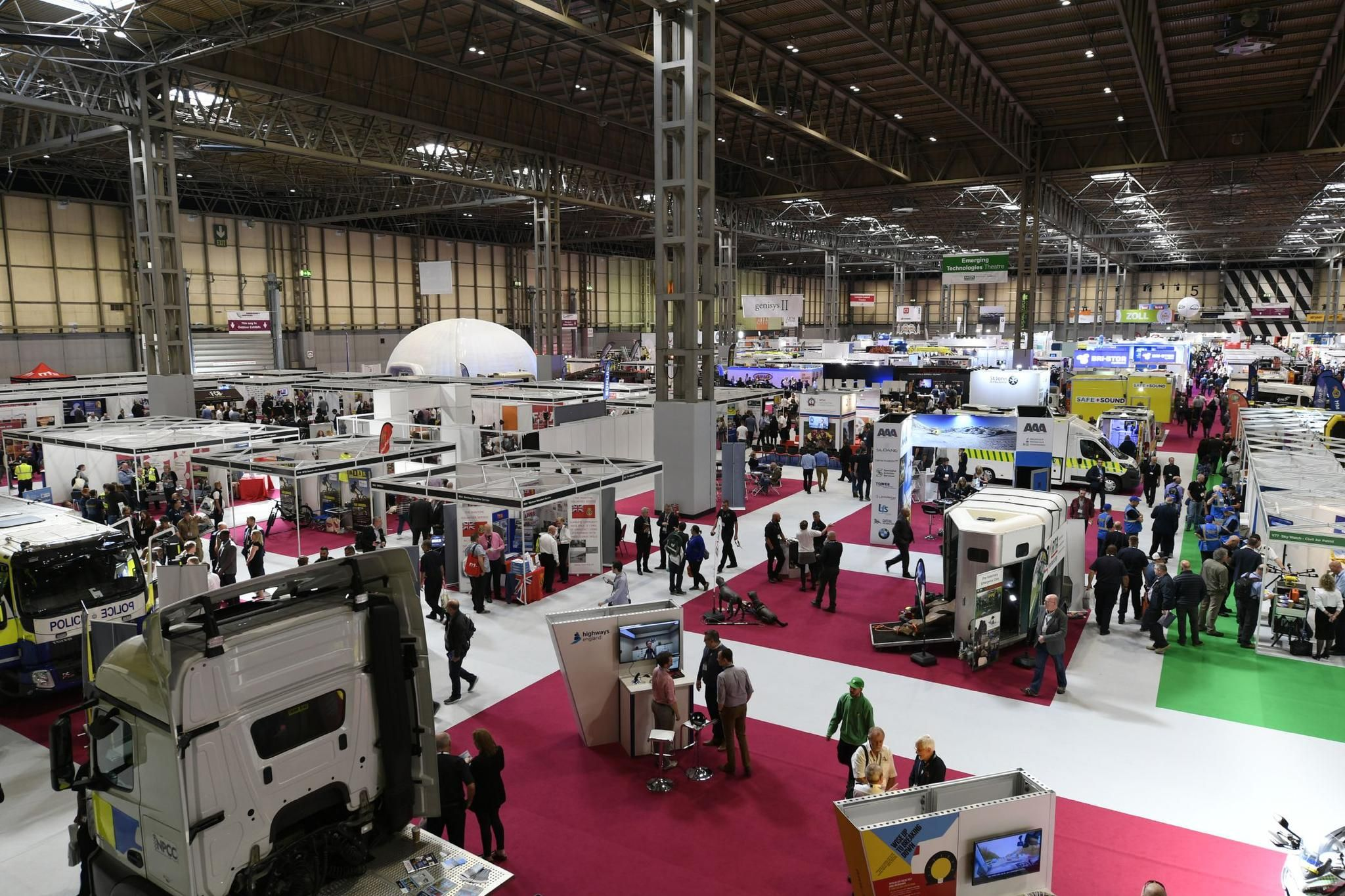 International Visitors Increase as Emergency Services Show Successfully Showcases Emerging Technology and Learning
