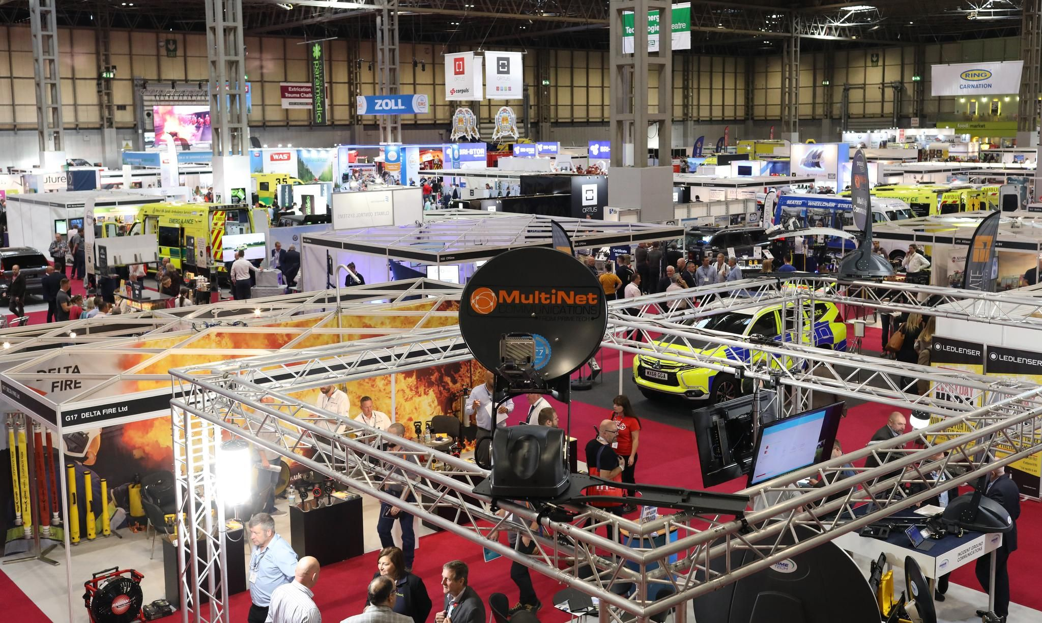 10,000+ VISITORS FROM THE EMERGENCY SERVICES SECTOR