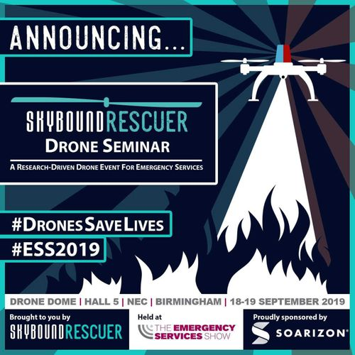 ESS2019 Announces SkyBound Rescuer Drone Seminar and Drone Zone