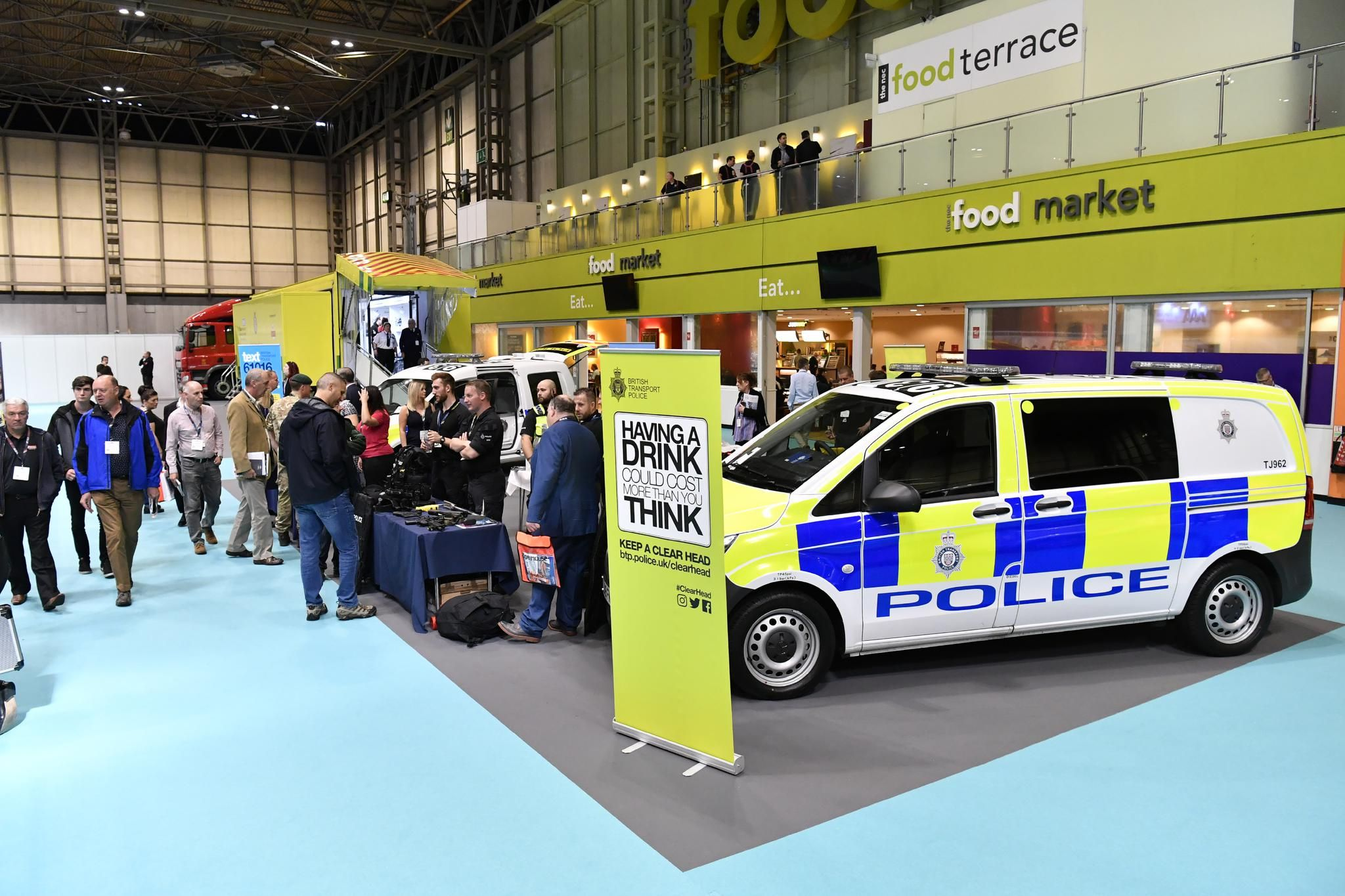 Plenty for police visitors - over 450 Exhibiting Companies and 90 Free CPD Seminars at The Emergency Services Show