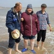 Rosie's day at Clacton on Sea