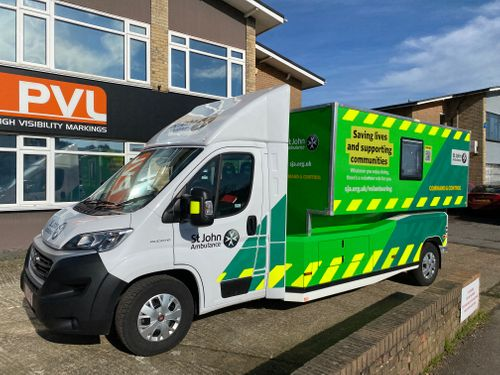PVL brand the new St John Ambulance fleet