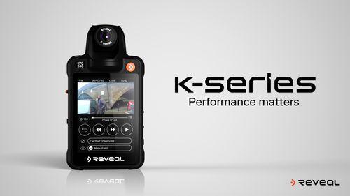 Introducing K-Series Body Cameras