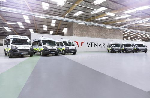 Vehicle manufacturer steps up to support Yorkshire's emergency services