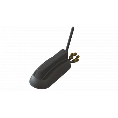 Barracuda low-profile multiport/multiband antenna