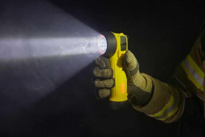 ATEX Rechargeable LED Safety Torch: R-55/R-50