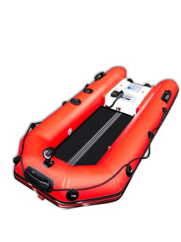 Remote-Controlled Auto-Inflation Water Rescue Boat System