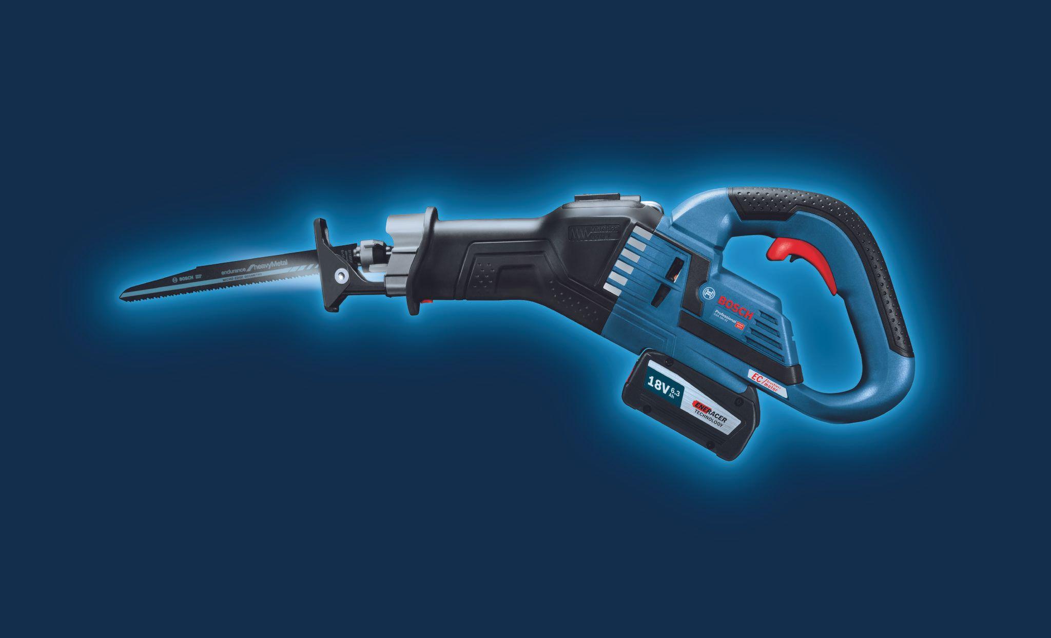 GSA 18V-32 Vibration Control: Work longer with minimum fatigue.