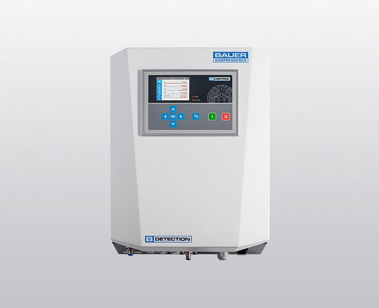 B-DETECTION PLUS online gas measuring system for high-pressure applications