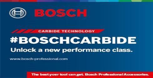 Bosch Carbide Accessories. CUT MORE. CUT LONGER. CUT FASTER.