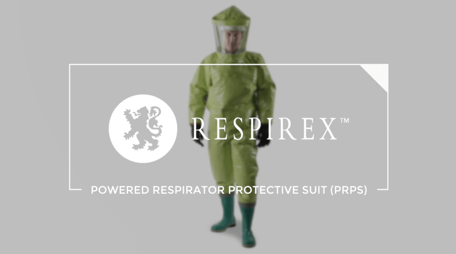 Powered Respirator Protective Suit (PRPS) from Respirex International