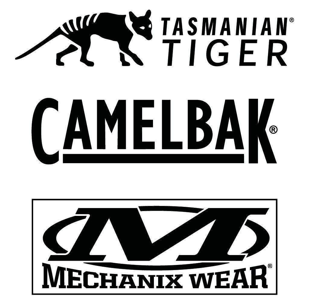 TASMANIAN TIGER/MECHANIX WEAR/CAMELBAK