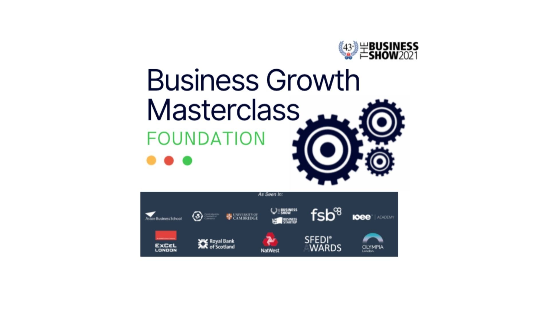 Business Growth Masterclasee