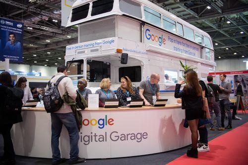 Google Digital Garage Van