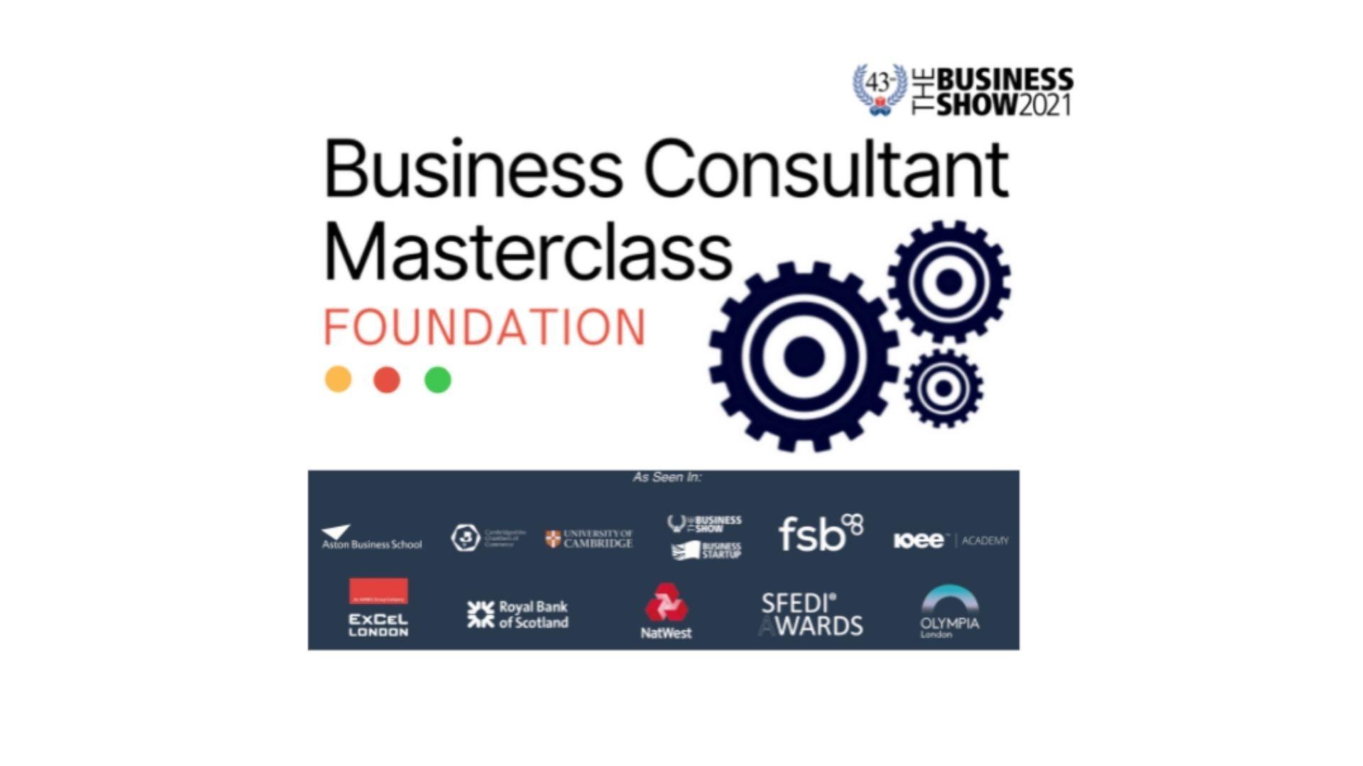 Business Consultant Masterclasss