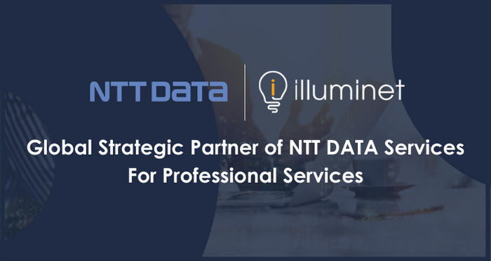 Global Strategic Partner of NTT DATA Services, for Professional Services
