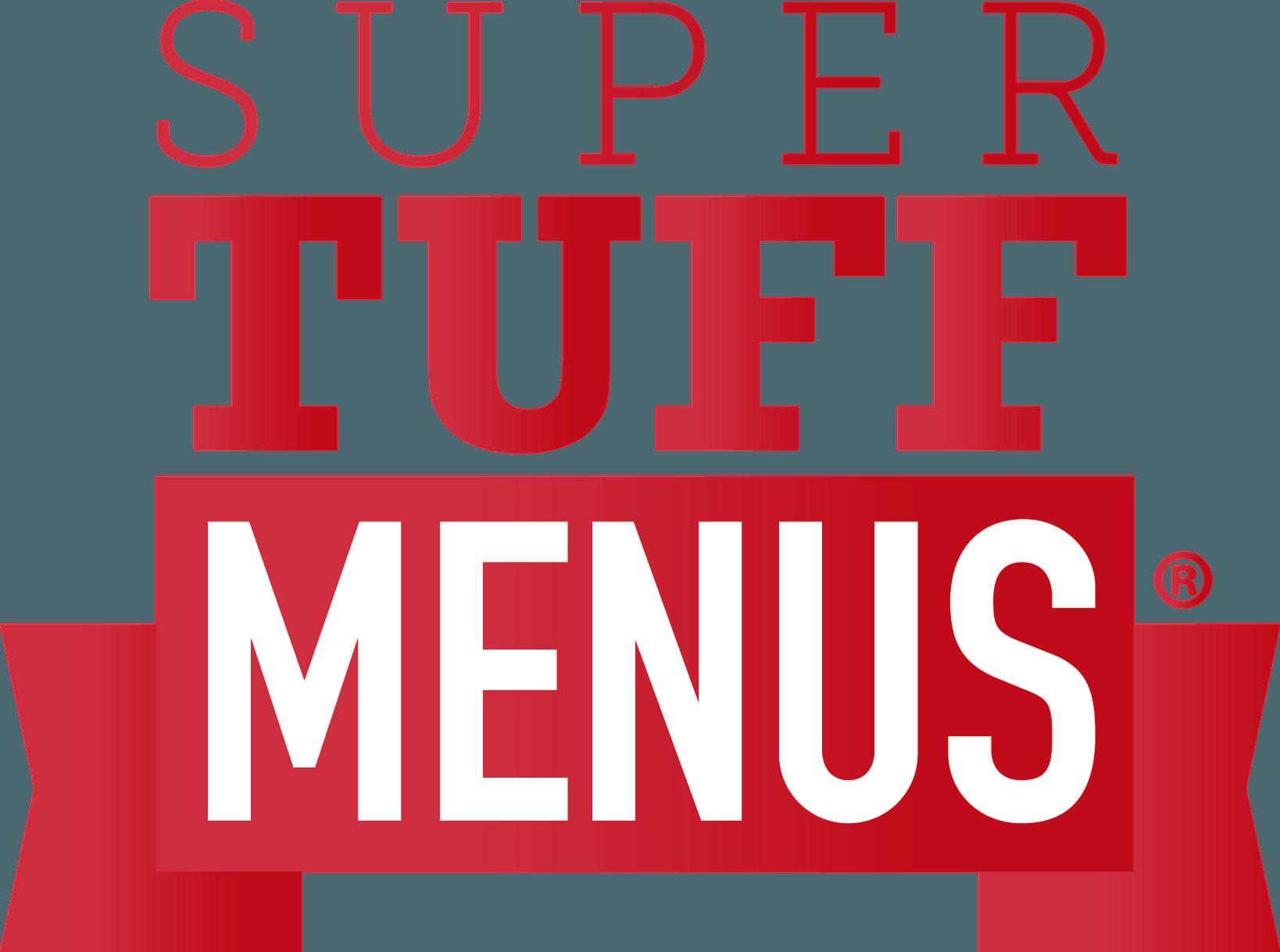 Super Tuff Menus