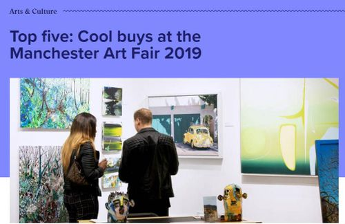 Top five: Cool buys at the Manchester Art Fair 2019