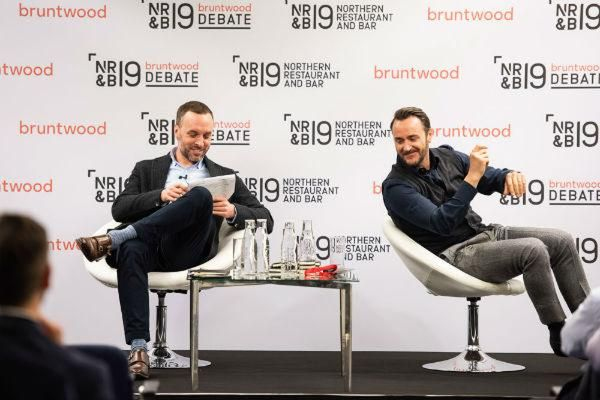 Bruntwood NRB Debate Thom Hetherington and Jason Atherton