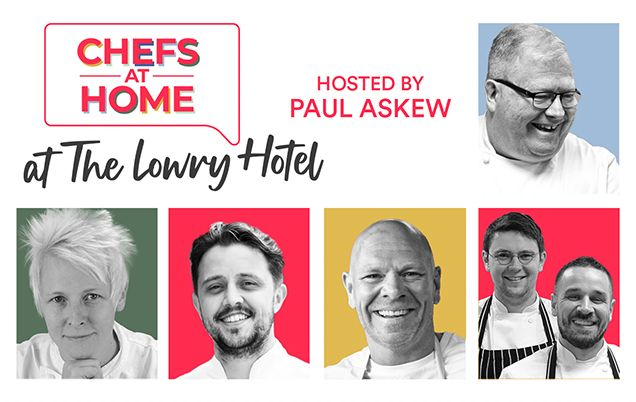 EVENT Chefs At Home at The Lowry Hotel (Hospitality Action)