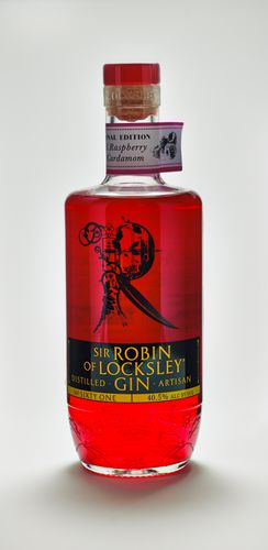 SIR ROBIN OF LOCKSLEY GIN REAL RASPBERRY & CARDAMOM Edition