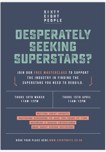 DESPERATELY SEEKING SUPERSTARS?