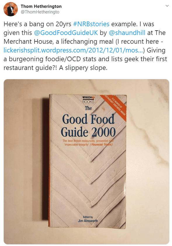 Thom Hetheringto Good Food Guide