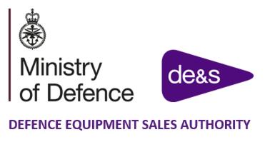 Defence Equipment Sales Authority