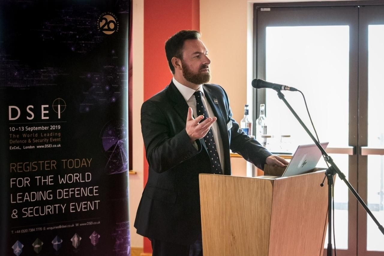 Interview with Alex Soar, International Development Director, DSEI Japan