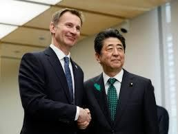 Hunt visits Japan strengthen British and Japanese strategic partnerships