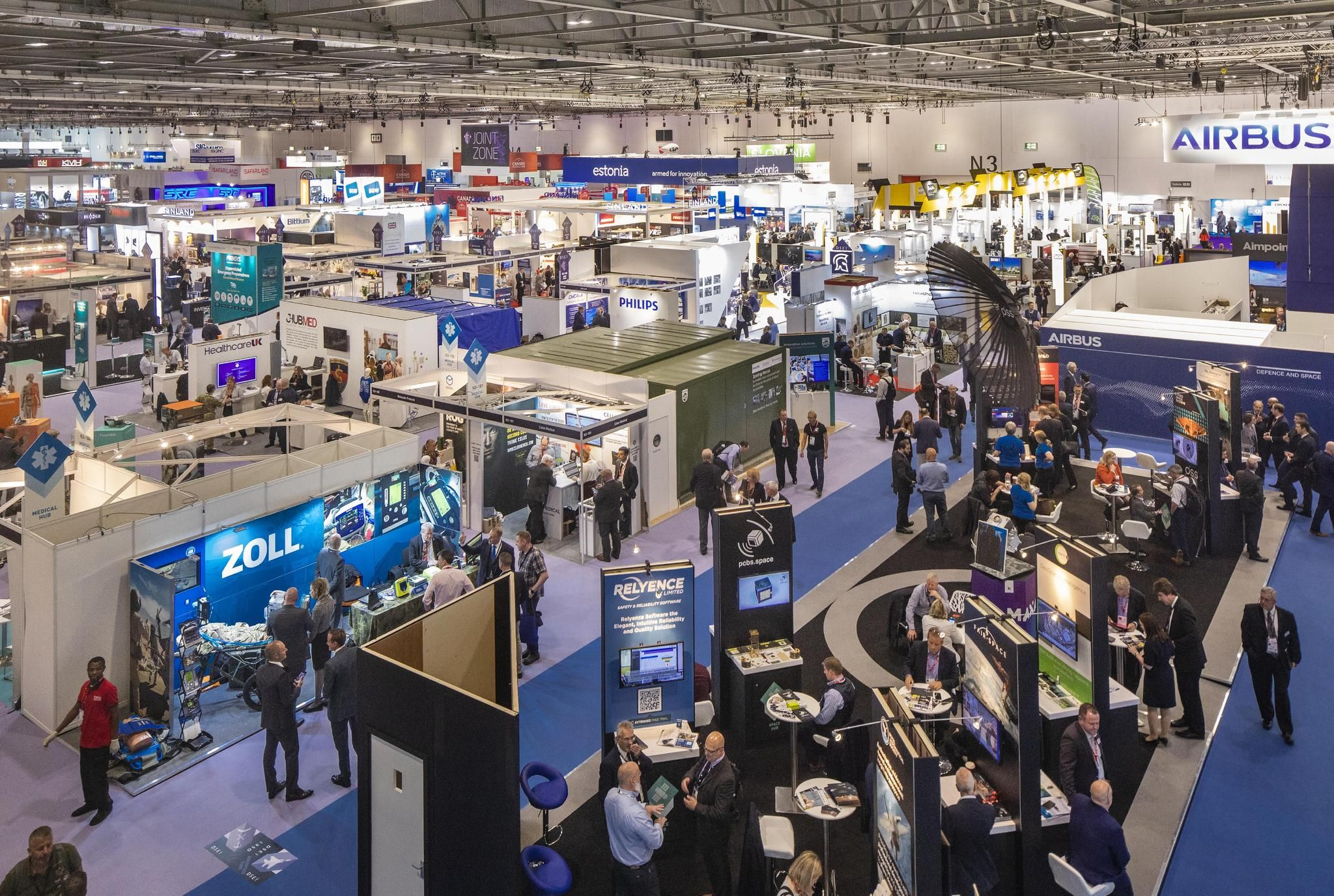 Exhibition Floor Dsei 2021 Powering Progress Defining Your Future
