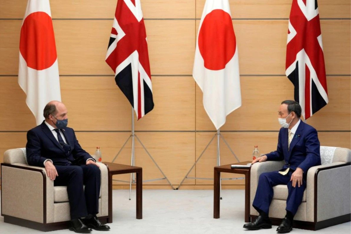 UK Secretary of State for Defence Ben Wallace meets Japan's Prime Minister and Defence Minister