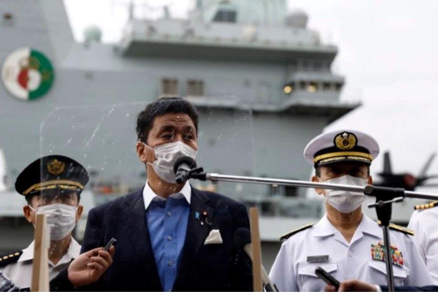 U.K. carrier commander: Japan visit underscores partnership