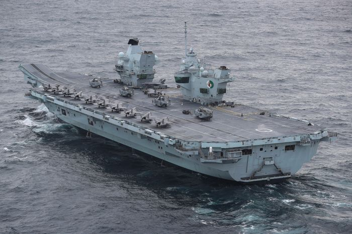Carrier HMS Queen Elizabeth Will Drill with Japanese in Pacific During Deployment (USNI News)