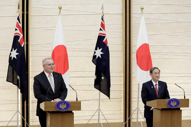 U.S. Navy commander in Asia welcomes Japan-Australia military pact as encouraging