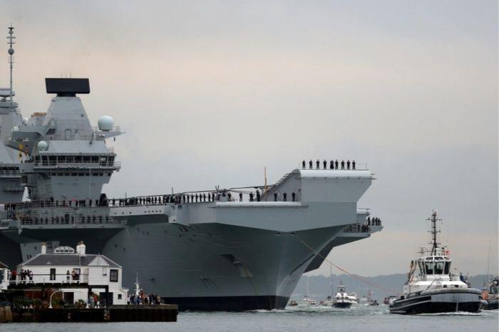 UK to send Queen Elizabeth aircraft carrier to Japan, S Korea