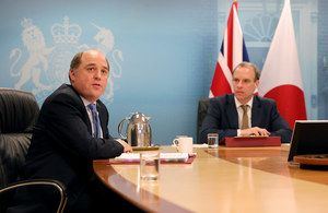 UK commits to deeper defence and security cooperation with Japan