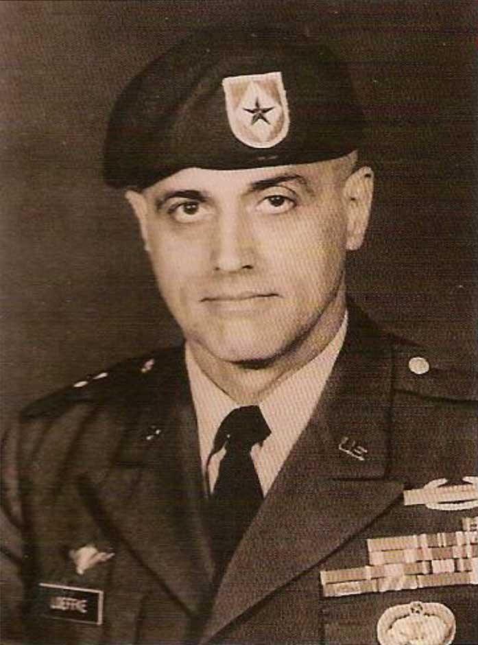 Major General (ret.) Bernard