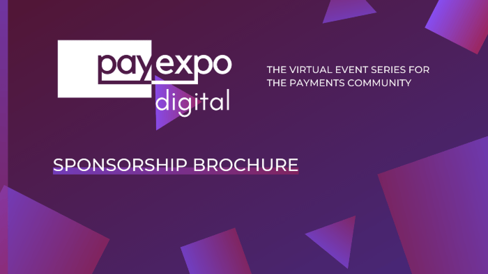 PayExpo Digital Sponsorship Brochure