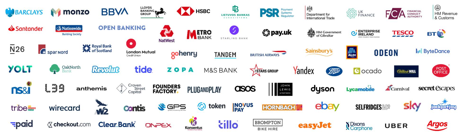 PayExpo Attendee Company Logos