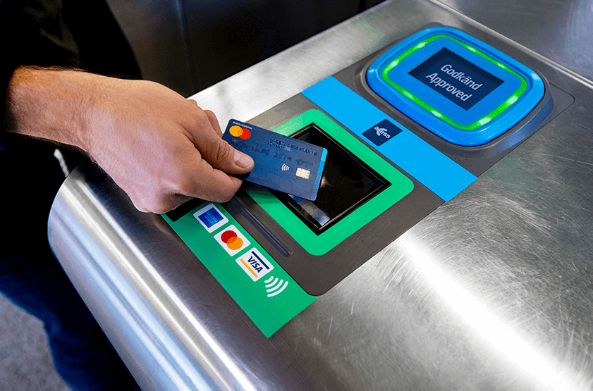 Contactless transit payments launched across Stockholm
