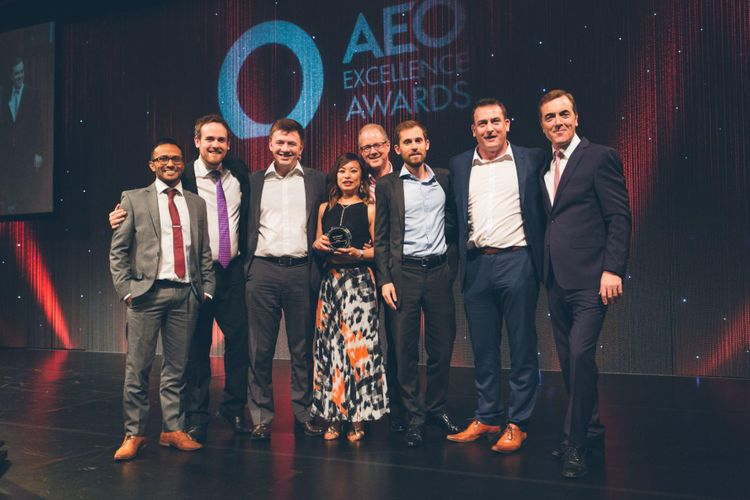 AEO Awards Winners