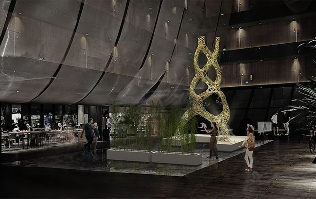 """""""设计中国北京""""携手""""非静止建筑""""在瑜舍酒店打造的艺术装置——""""编织丛林"""""""