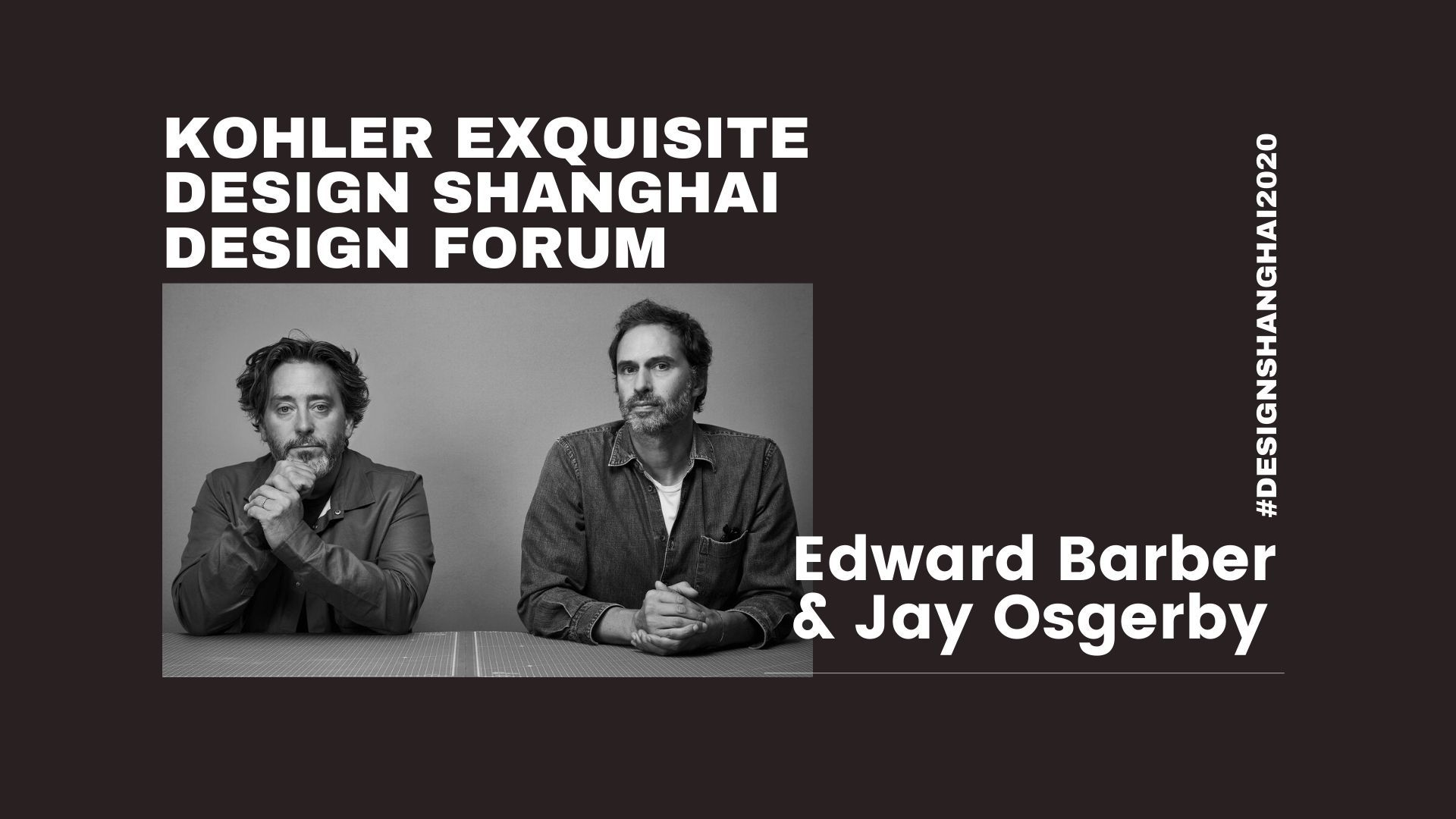 论坛视频回顾丨Edward Barber & Jay Osgerby:Global, Local, Future of Work