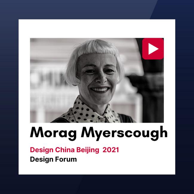 """""""设计中国北京""""2021设计论坛视频回顾:Morag Myerscough"""
